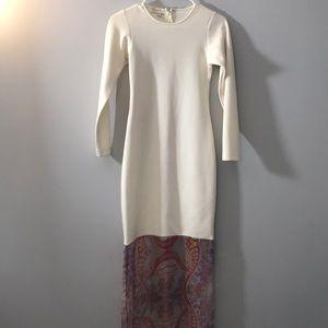 Bodycon Dress Jersey With Back zipper XS